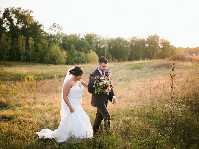 The wedding of Eddie and Breana