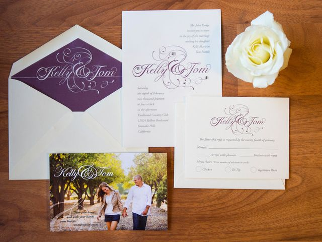 Kelly and Tom's Wedding in Granada Hills, California 1