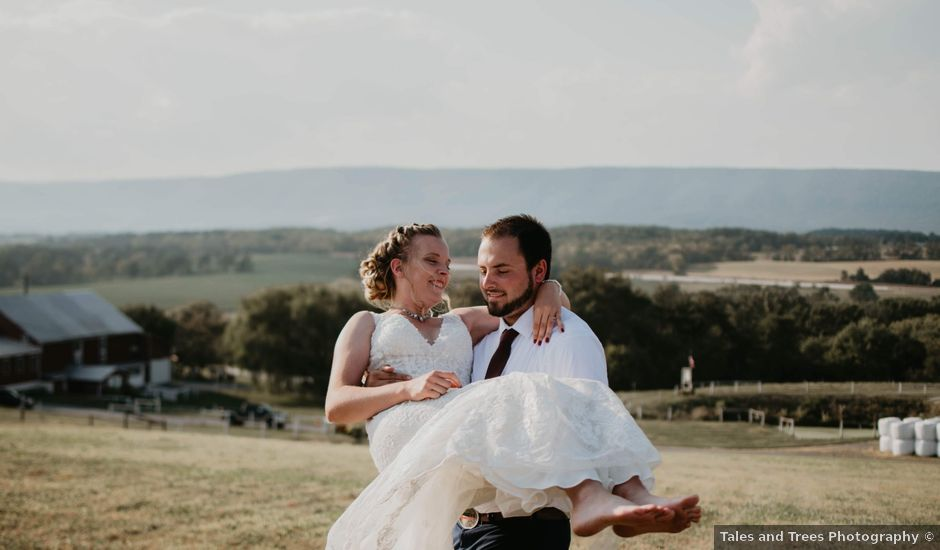 Emily and Chandler's Wedding in Newville, Pennsylvania