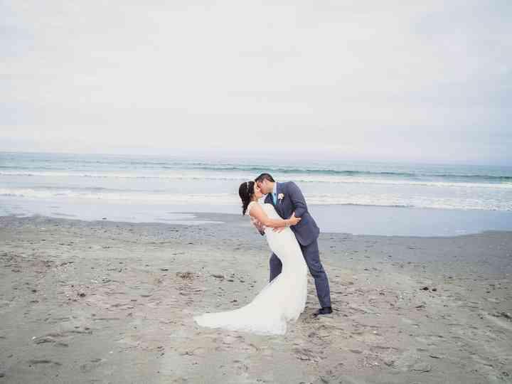 The wedding of Alison and Joey