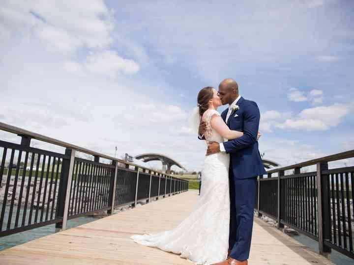 The wedding of Alison and Matt