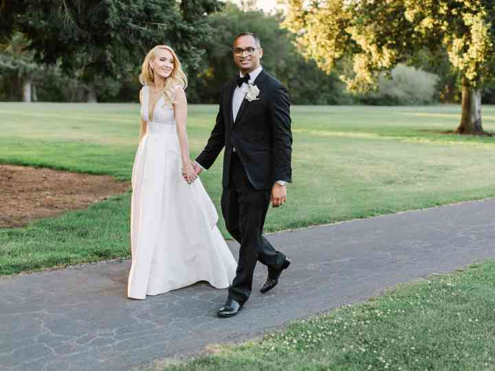 The wedding of Laura and Raj