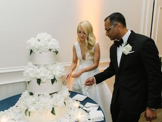 The wedding of Laura and Raj 1