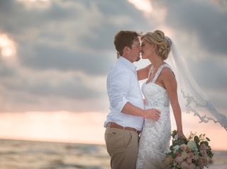 The wedding of Britney and Brandon