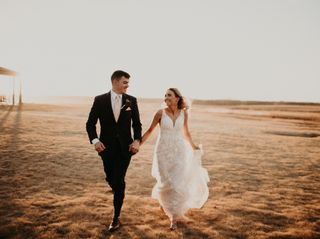 The wedding of Tasha and Michael