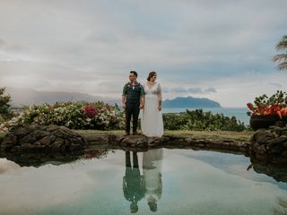 The wedding of Sydney and Scott