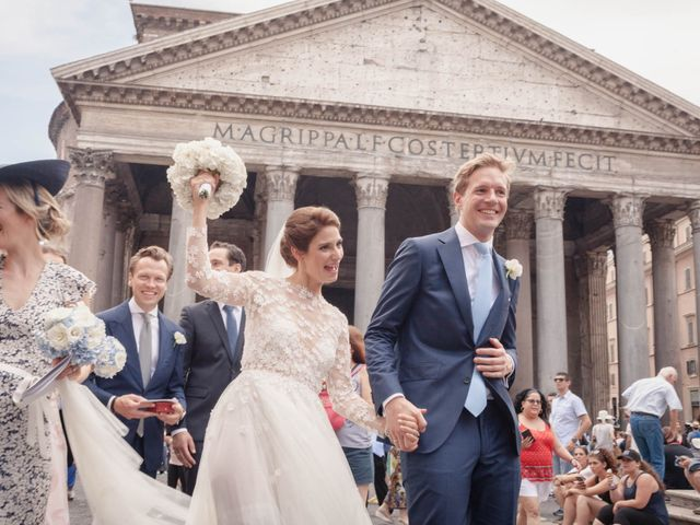 Sebastian and Anne Marie's Wedding in Rome, Italy 7