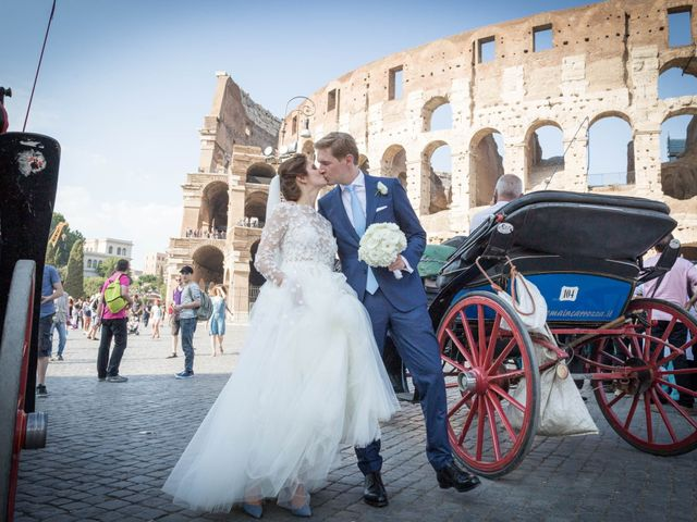 Sebastian and Anne Marie's Wedding in Rome, Italy 8