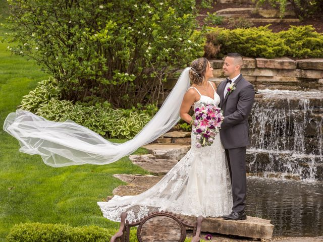 The wedding of Geraldine and Christopher