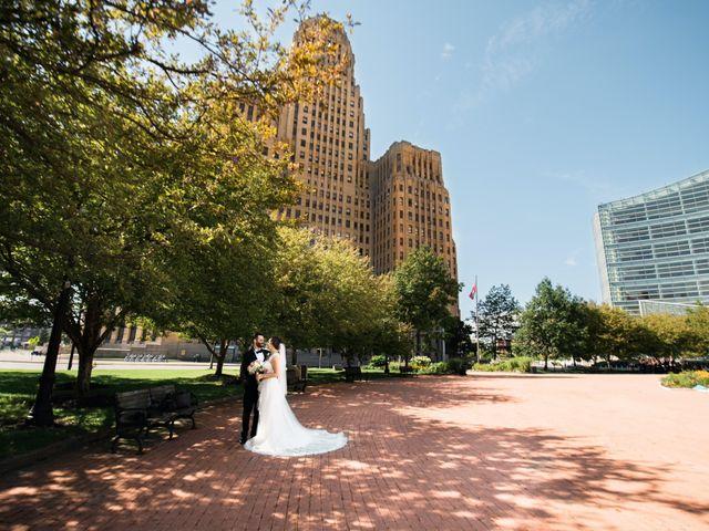 Ryan and Dana's Wedding in Buffalo, New York 42