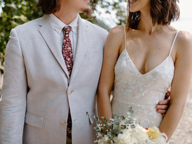 The wedding of Shaun and Bran