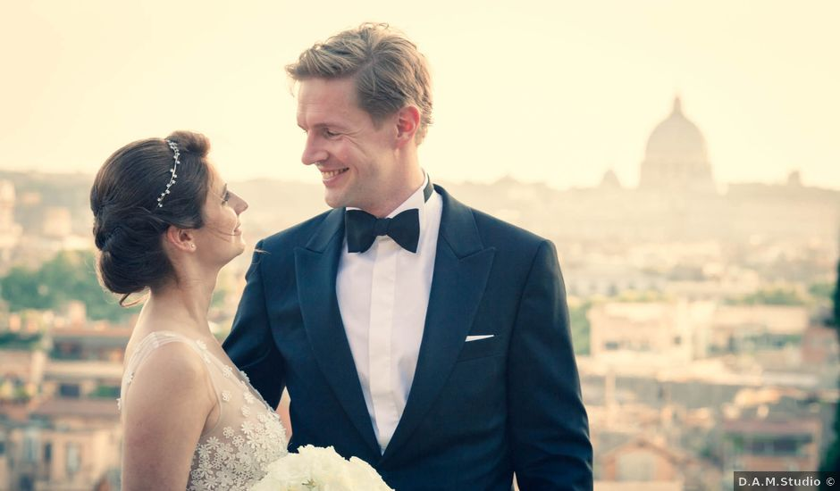 Sebastian and Anne Marie's Wedding in Rome, Italy