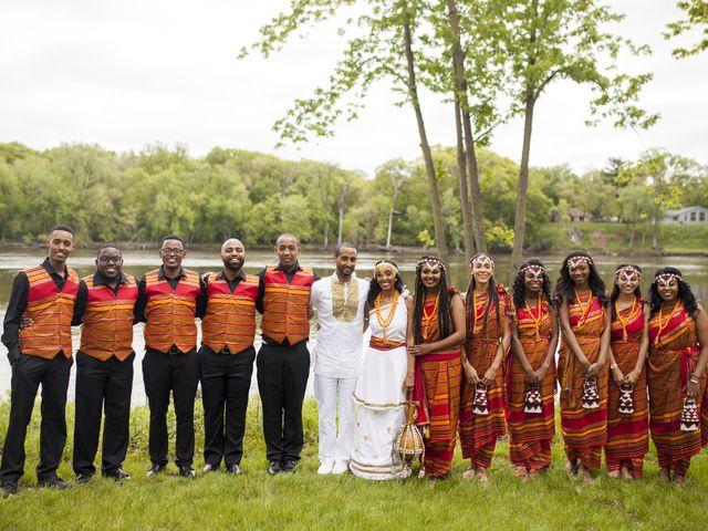 Konilia and Olyad's Wedding in Minneapolis, Minnesota 5