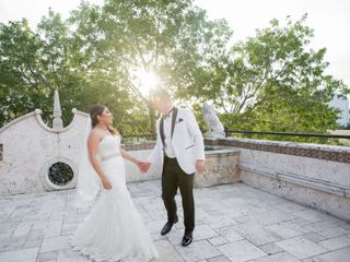 The wedding of Andressa and David