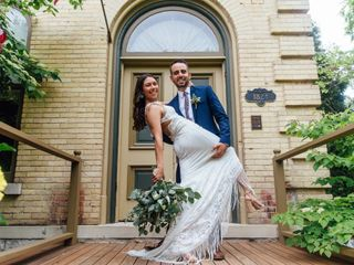 The wedding of Cynthia and Paul