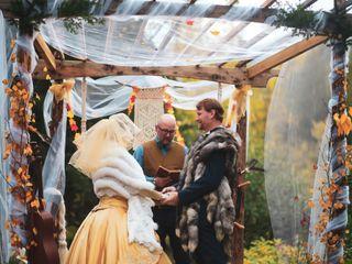 The wedding of Alexandria  and Scott 1