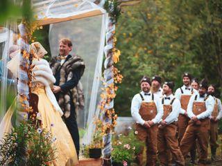 The wedding of Alexandria  and Scott 2