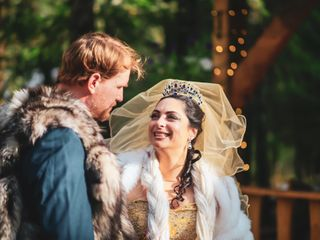 The wedding of Alexandria  and Scott