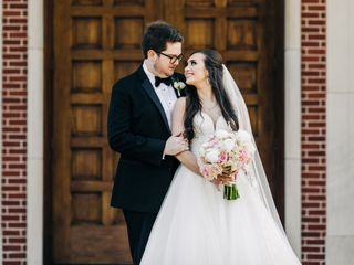 The wedding of Sydney and Michael