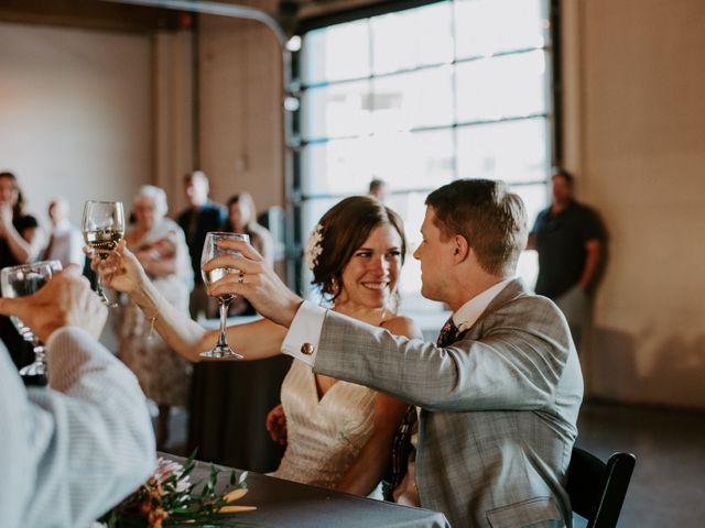 The wedding of Meg and Ken