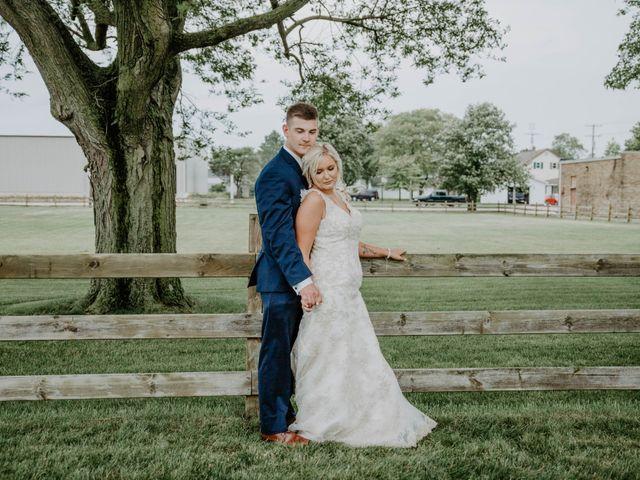 The wedding of Joshua and Allison