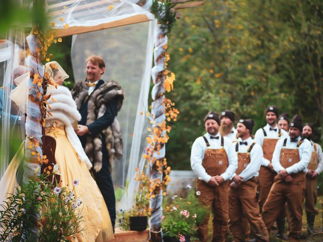 Scott and Alexandria 's Wedding in Skagway, Alaska 4