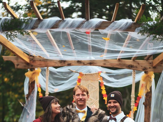 Scott and Alexandria 's Wedding in Skagway, Alaska 1
