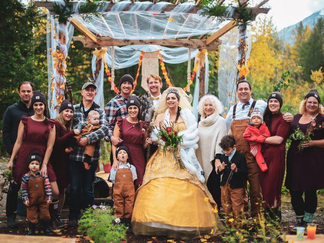 Scott and Alexandria 's Wedding in Skagway, Alaska 2