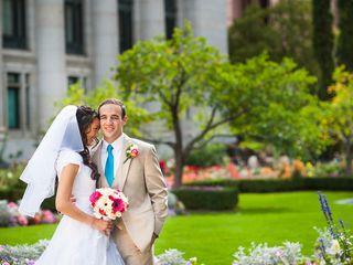 Melissa and Brian's Wedding in Farmington, Utah 4