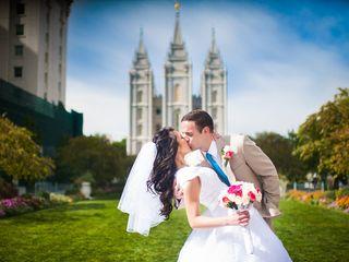 Melissa and Brian's Wedding in Farmington, Utah 6