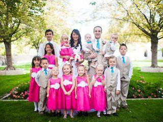 Melissa and Brian's Wedding in Farmington, Utah 7