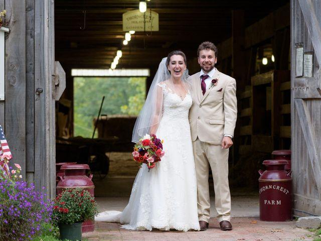 The wedding of Hope and Lyndon