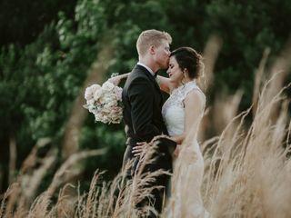 The wedding of Karen and Layton