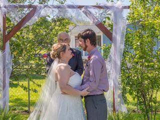 The wedding of Rachel and Austin
