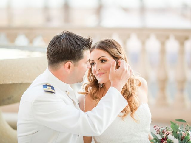George and Kristen's Wedding in Huntington Beach, California 28