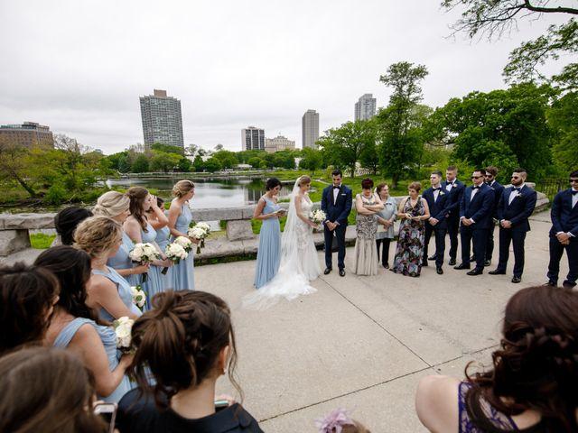 Ramtin and Emily's Wedding in Chicago, Illinois 42
