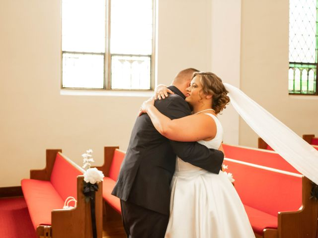 The wedding of Kyle and Megan