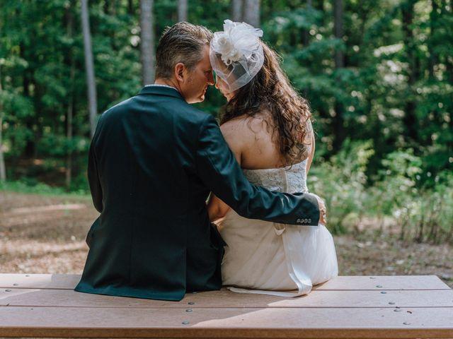 The wedding of Amy and Aaron