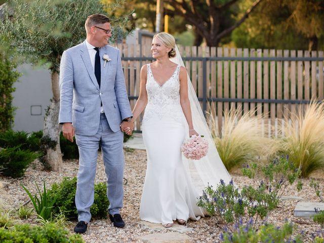 The wedding of Hannah and Tony