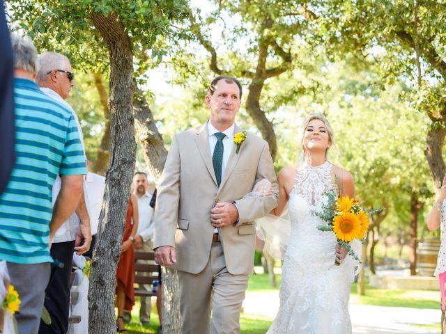 Shane and Kassidy's Wedding in Wimberley, Texas 44