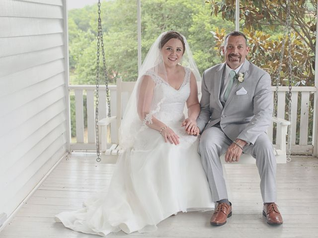 The wedding of Brittany and Daniel