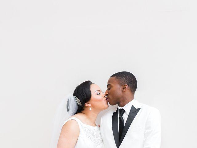 The wedding of Jarred and Imani