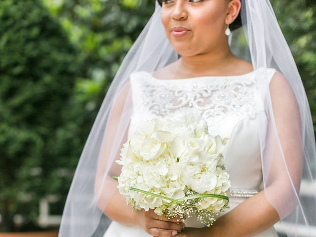 Imani and Jarred's Wedding in Chevy Chase, Maryland 6