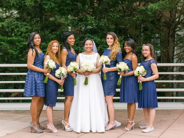 Imani and Jarred's Wedding in Chevy Chase, Maryland 7