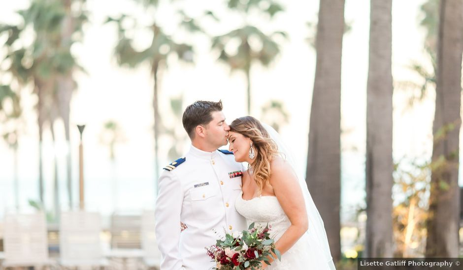 George and Kristen's Wedding in Huntington Beach, California