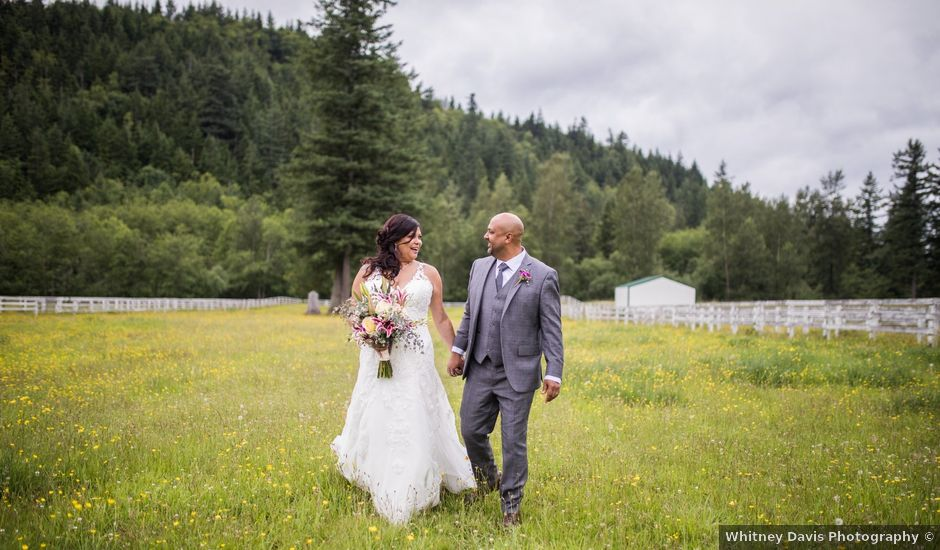 Jessi and Alex's Wedding in Ravensdale, Washington