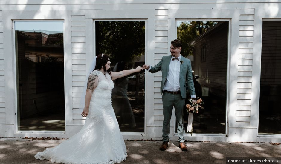 Ethan and Aimee's Wedding in Fayetteville, Arkansas