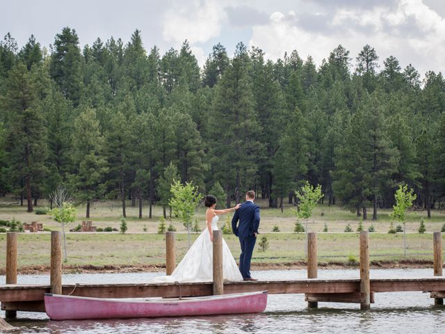 Alina and Michael's Wedding in Munds Park, Arizona 5