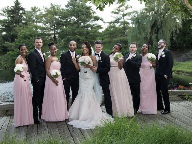 Ryan and Tiffany's Wedding in Ambler, Pennsylvania 12