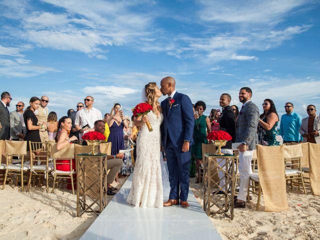 The wedding of Betty and Raymond